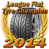League Flat Tyre Champion 2014