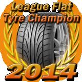 League Flat Tyre Champion 2014