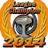 League Champion Silver Cup 2014