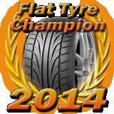 Flat Tyre Champion 2014