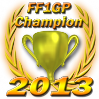 FF1GP Champions Gold Cup 2013