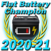 Flat Battery Champion 2020-21
