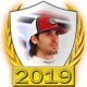 A collectable Antonio Giovinazzi 2019 FF1GP driver fanbadge