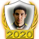 A collectable Esteban Ocon 2020 FF1GP driver fanbadge