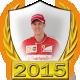 Sebastian Vettel fanbadge