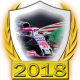 Force India-Mercedes fanbadge
