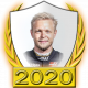 A collectable Kevin Magnussen 2020 FF1GP driver fanbadge