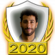 A collectable Daniel Ricciardo 2020 FF1GP driver fanbadge